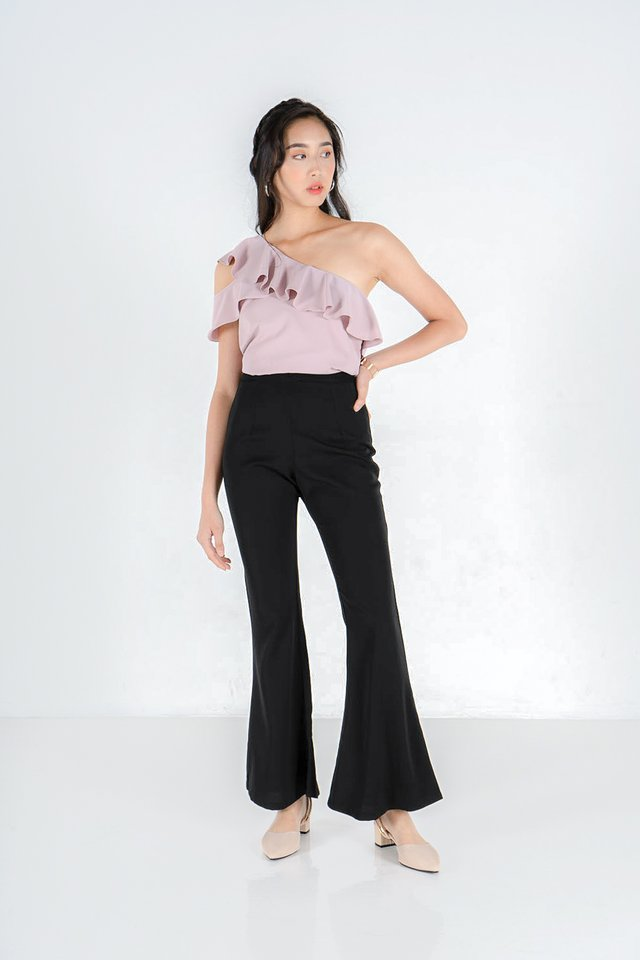 Ella Ruffles One Shoulder Top