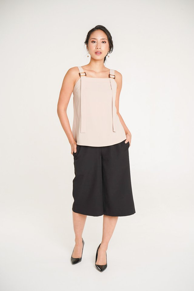 Renee Pinafore Top