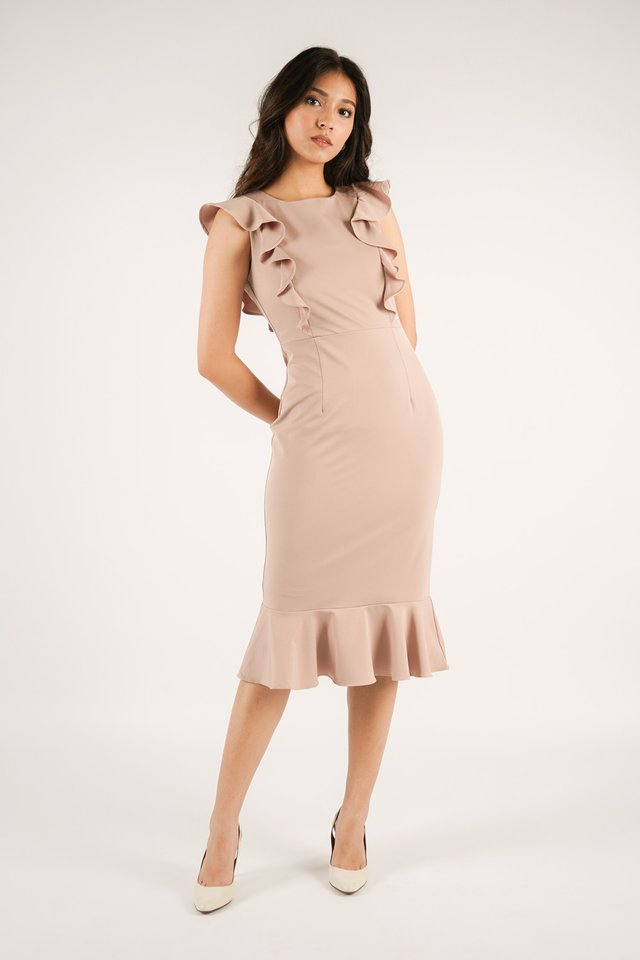 Phoebe Ruffles Dress