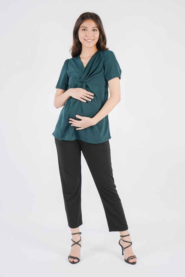 [MATERNITY] Adalene Knot Top