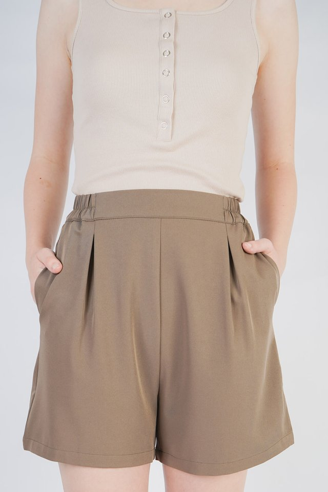 Avery Pleated Shorts